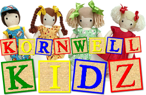 Kornwell Kidz Handmade personalised rag Dolls UK