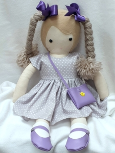 This ragdoll and her complete outfit was chosen by her new owner for her birthday.